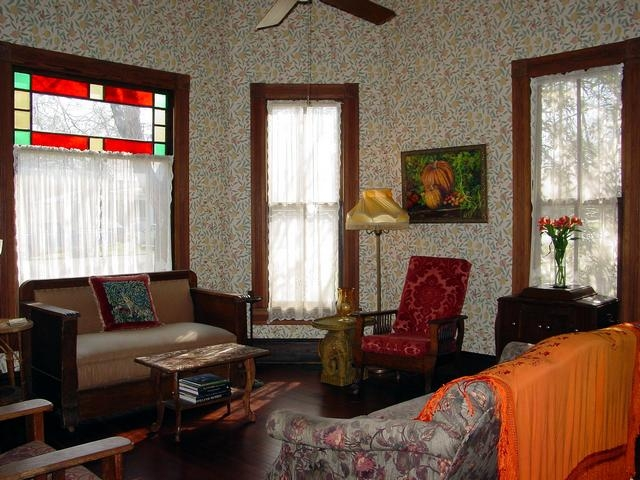 View of the parlor at our premises in Lockhart, Texas