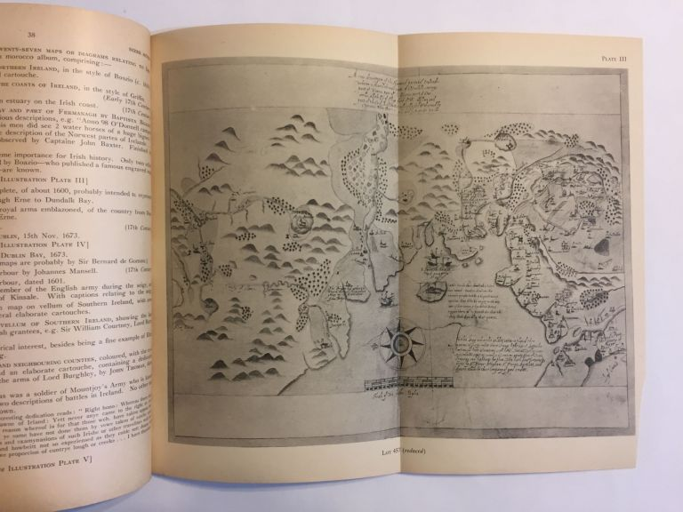 [BERMUDA / IRELAND / MAPS]. Catalogue of valuable printed books, important manuscript maps, autograph letters, historical documents, etc. [March 8, 1948]. Sotheby, Co, Sotheby's London.
