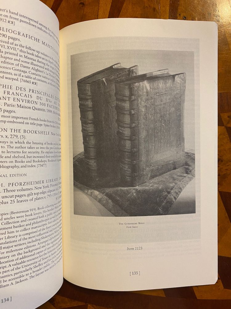 [INCUNABULA REFERENCE]. From the Reference Library of H.P. Kraus, with Additions. Part II. Catalogue 257. Literature on Incunabula. Oak Knoll Books.