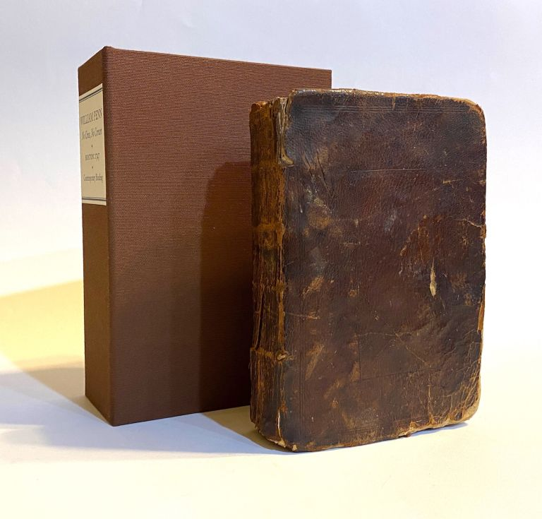 [COLONIAL BOSTON (?) BINDING ca. 1747]. NoCross,NoCrown. A Discourse Shewing the Nature and Discipline of theHolyCrossof Christ. William Penn.
