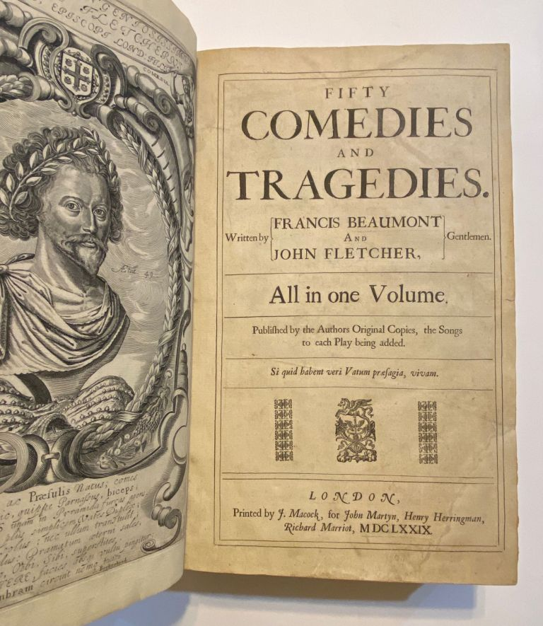 Fifty Comedies and Tragedies. All in One Volume. Francis Beaumont, John Fletcher.
