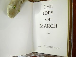 The Ides of March [SIGNED]. Rene