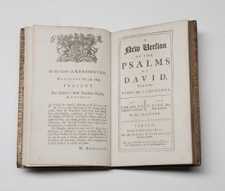 A New Version of the Psalms of David fitted to the Tunes used in Churches