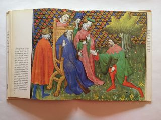 """Illuminated Manuscripts: Tristan and Isolde from a manuscript of """"The Romance of Tristan"""" (15th century)"""