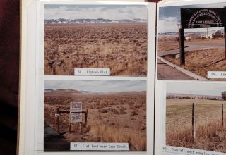 "Vernacular Photo Album of Bleak Wyoming]. ""Photographs on the Wind River Indian Reservation,..."