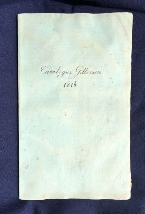 ANTIQUARIAN BIBLIOGRAPHY / LIBRARY SALE CATALOGUE]. Catalogus partis bibliothecae instructissimae...