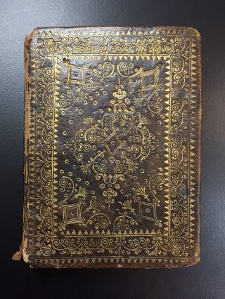 The Whole Booke of David's Psalmes [Book of Psalms]. Scottish Binding