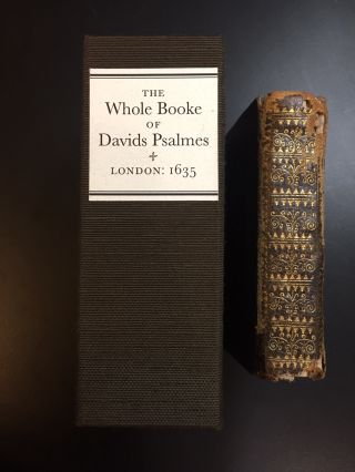 The Whole Booke of David's Psalmes [Book of Psalms]