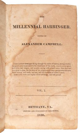 Mormons and Mormonism]. The Millennial Harbinger. Alexander Campbell