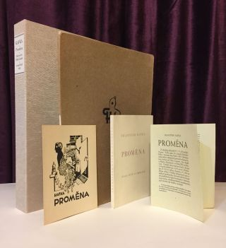 Promena [Metamorphosis - First Czech edition]. Together with: Promena, Sestero Konfigurací k...