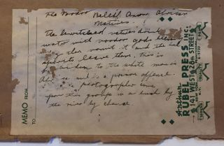 "[Original photograph.] ""The Voodoo Belief Among African Natives"" (manuscript title)"