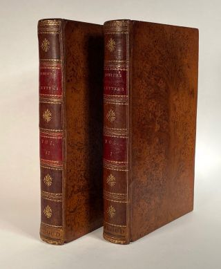 Samuel Bradford]. [Early American Tree Calf]. The Letters of Junius, with notes and...