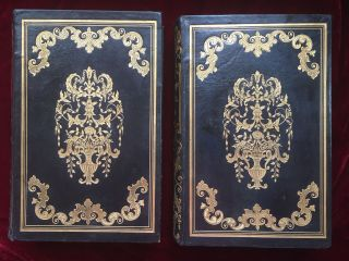 American Publisher's Stamped Leather Bindings]. The Cottage Bible and Family Expositor. Rev....