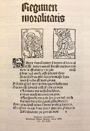 INCUNABULA REFERENCE]. Catalogue des Incunables [de la Bibliotheque nationale de France] (a.k.a....