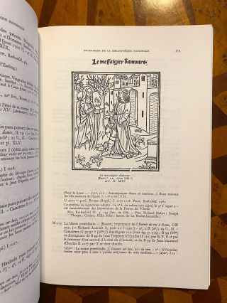 """[INCUNABULA REFERENCE]. Catalogue des Incunables [de la Bibliotheque nationale de France] (a.k.a. CIBN). Together 5 volumes. Tome I - Fasc. 1: Xylographes et """"A."""" Tome II - Fasc. 1-4: """"H-Z"""" and """"Hebraica."""" TOGETHER WITH: """"Additions et Corrections"""""""