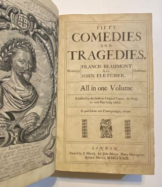 Fifty Comedies and Tragedies. All in One Volume. Francis Beaumont, John Fletcher