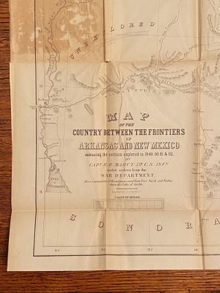 [TEXANA]. Exploration of the Red River of Louisiana, in the Year 1852 [33rd Congress, 1st Session, House of Representatives. Executive Doc.]