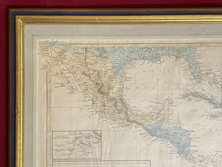 Mexico and Central America to illustrate Harpers Gazetteer