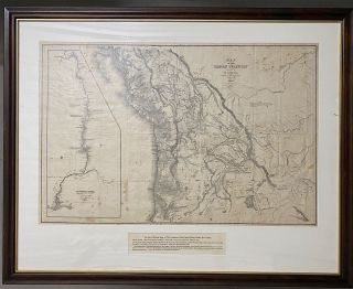 Map of the Oregon Territory by the U.S. Ex. Ex. Charles Wilkes, Esqr. Commander 1841. [Inset map...