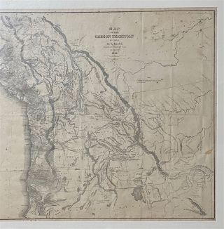 Map of the Oregon Territory by the U.S. Ex. Ex. Charles Wilkes, Esqr. Commander 1841. [Inset map at left]: Columbia River Reduced from Survey Made by the U.S. Ex. Ex. 1841. [Below neat line at right]: J.H. Young & Sherman & Smith, N.Y.