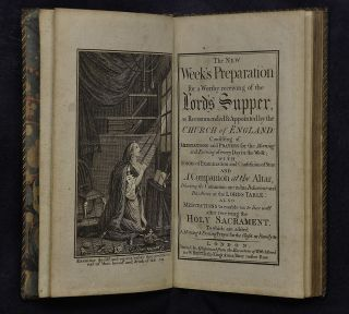 [Early Brighton (?) Binding]. The new week's preparation for a worthy receiving of the Lord's Supper, as recommended and appointed by the Church of England; consisting of meditations and prayers