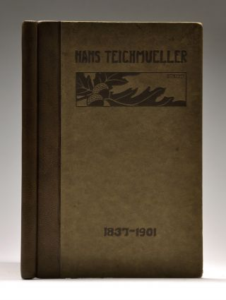 TEXANA / LAW]. Hans Teichmueller. Biographical Sketch. Addresses and Letters to his family....