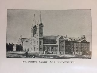 Jubilee Number. Twenty-Fifth Annual Catalogue of the Officers, Faculty and Students of St. John's University, Collegeville, Minn. Academic Year 1891-1892